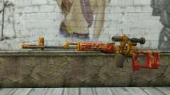 A Dragunov Sniper Rifle (Point Blank) para GTA San Andreas