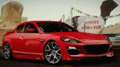 Mazda RX-8 Spirit R 2012 para GTA San Andreas