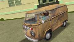 Volkswagen T2 Super Rust para GTA Vice City