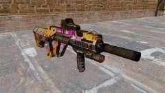 Máquina de Steyr AUG-A3 Graffitti para GTA 4