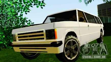 Huntley Limousine para GTA San Andreas