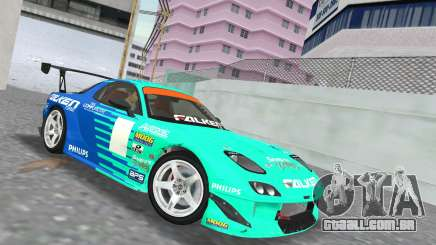 Mazda RX7 FD3S RE Amamiya Falken para GTA Vice City
