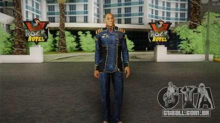 O capitão David Anderson из Mass Effect série para GTA San Andreas
