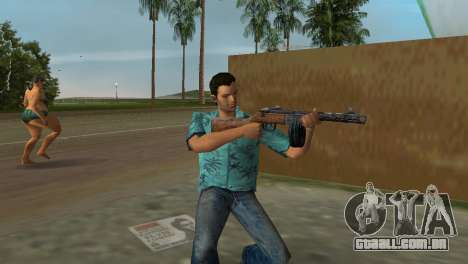Submachine Gun Shpagina para GTA Vice City por diante tela