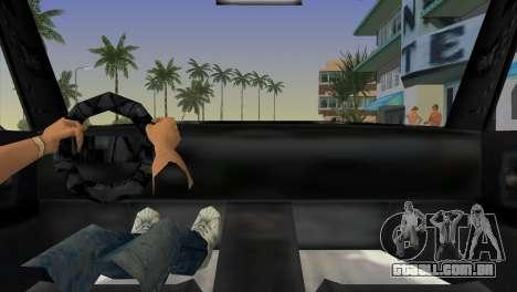 Re Admiral para GTA Vice City vista traseira esquerda