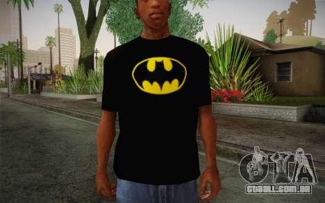 Batman Swag Shirt para GTA San Andreas