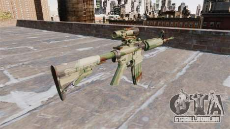 Automático de carabina, MAS a OTAN Camo para GTA 4 segundo screenshot