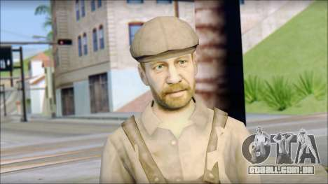 Male Civilian Worker para GTA San Andreas terceira tela