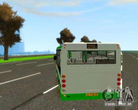 Um GROOVE para GTA 4 traseira esquerda vista