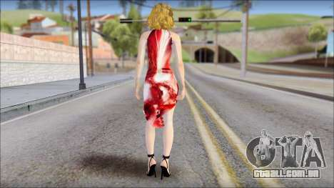 Masha Dress para GTA San Andreas segunda tela