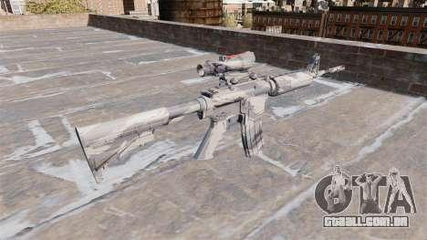 Automático carabina MA Cinza de cana-de-Camo para GTA 4 segundo screenshot