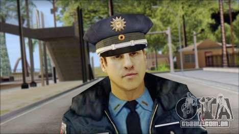 Deutscher Polizist para GTA San Andreas terceira tela