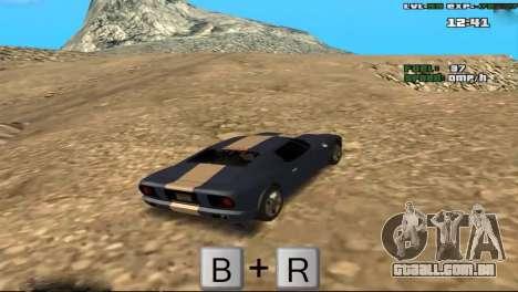 Freeze Root para GTA San Andreas