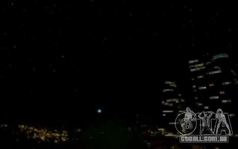 FIXED SkyBox Arrange - Real Clouds and Stars para GTA San Andreas segunda tela