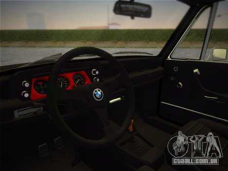 BMW 2002 Tii (E10) 1973 para GTA Vice City vista direita