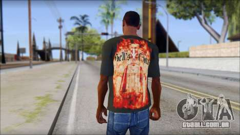 Undertaker T-Shirt para GTA San Andreas segunda tela
