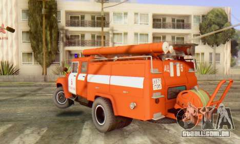 ZIL 130 CA-40 para GTA San Andreas esquerda vista