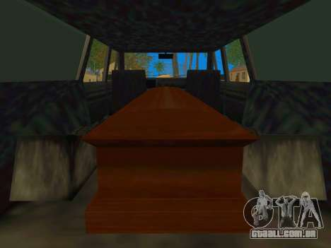 Perennial Сatafalque para GTA San Andreas vista direita