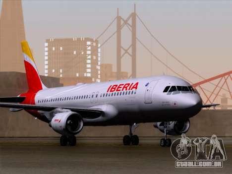 Airbus A320-214 Iberia para GTA San Andreas
