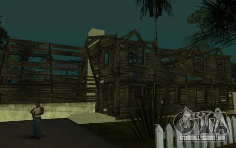 A casa de Call of Duty 4 para GTA San Andreas