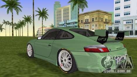 Porsche GT3 Cup 996 para GTA Vice City deixou vista