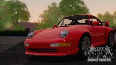 Porsche 911 GT2 (993) 1995 V1.0 EU Plate para GTA San Andreas