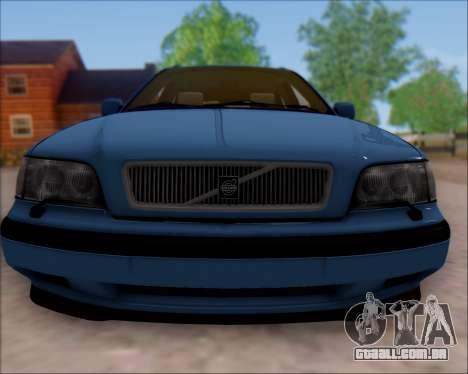 Volvo V40 para GTA San Andreas esquerda vista