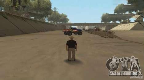 Carro de controle remoto para GTA San Andreas segunda tela