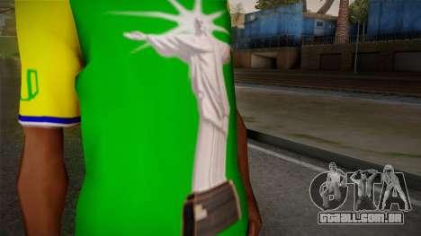 RIO T-Shirt para GTA San Andreas terceira tela