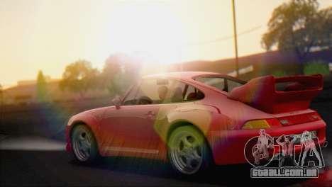 Porsche 911 GT2 (993) 1995 V1.0 EU Plate para GTA San Andreas traseira esquerda vista