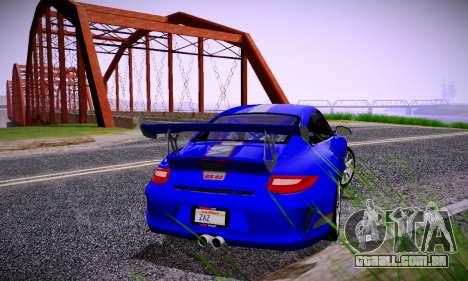 ENBSeries for low PC v2 fix para GTA San Andreas sétima tela