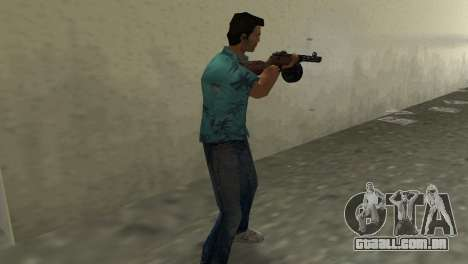 Submachine Gun Shpagina para GTA Vice City