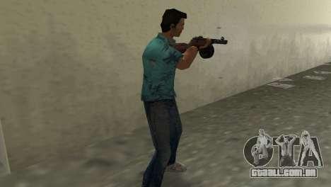 Submachine Gun Shpagina para GTA Vice City terceira tela