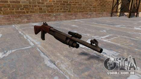 Ружье Benelli M3 Super 90 arte da guerra para GTA 4