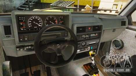 Nissan Patrol Buggy para GTA 4 vista de volta