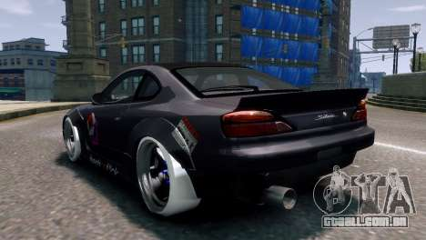 Nissan Silvia S15 Street Drift para GTA 4 esquerda vista