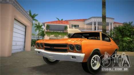 Chevrolet Chevelle SS para GTA Vice City