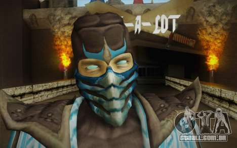 Sub Zero Skin para GTA San Andreas terceira tela