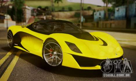 Grotti Turismo R V.1 para GTA San Andreas