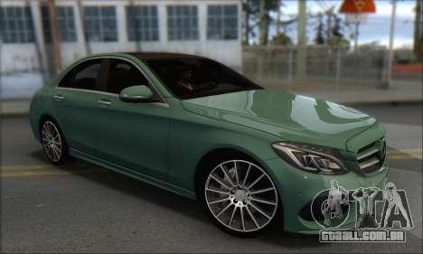 Mercedes-Benz C250 V1.0 2014 para GTA San Andreas vista direita