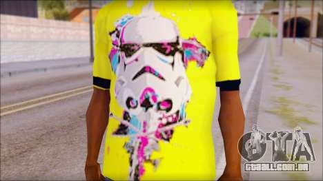 Star Wars Clone T-Shirt para GTA San Andreas terceira tela