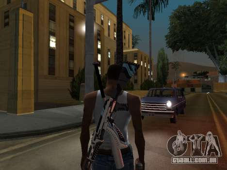 AK47 from CS:GO para GTA San Andreas segunda tela