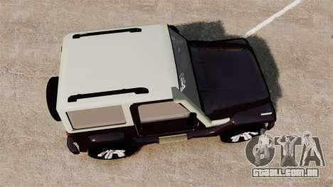 Troller T4 para GTA 4 vista direita