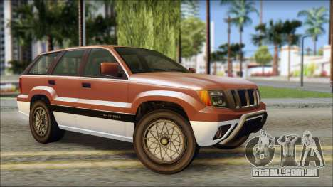 Seminole from GTA 5 para GTA San Andreas