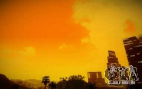 FIXED SkyBox Arrange - Real Clouds and Stars para GTA San Andreas terceira tela