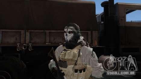 Army Ghost v1 para GTA San Andreas terceira tela