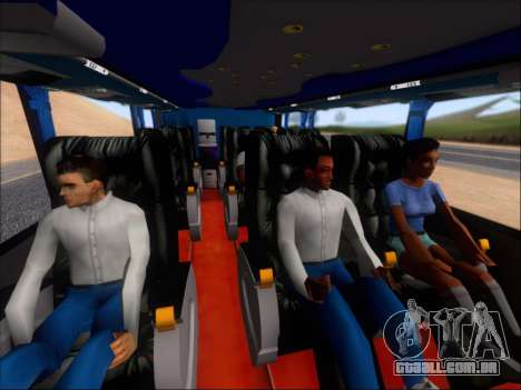 Metalsur Starbus DP 1 6x2 - La Veloz del Norte para GTA San Andreas vista superior