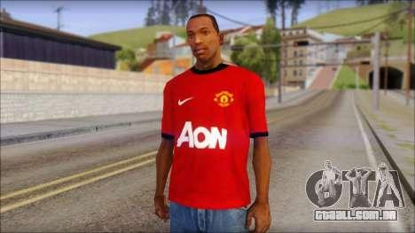 Manchester United 2013 T-Shirt para GTA San Andreas