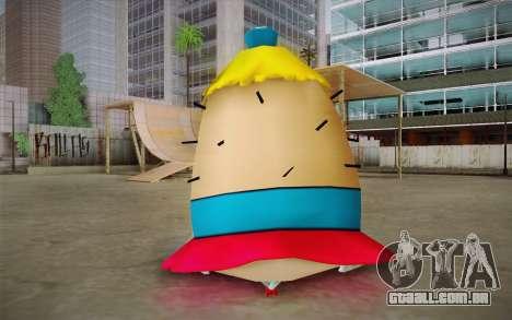 Mrs. Puff from Sponge Bob para GTA San Andreas segunda tela