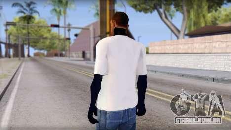Fabri Fibra T-Shirt para GTA San Andreas segunda tela